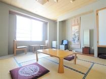 【和室8畳】使い勝手の良い和室。足を伸ばしてリラックス。