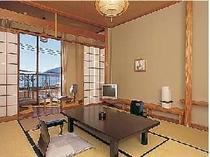 海側向き和室10畳一例