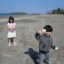 【青島ビーチ】青島を眺めて遠浅のクリーンなビーチ