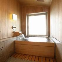 和洋室半露天風呂(数寄屋造り)