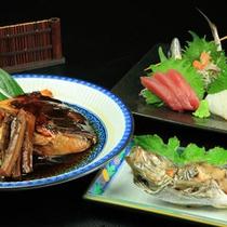 地魚プラン料理