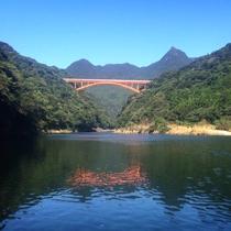 【景色】SUPやカヌーの体験コースでは景色で堪能!