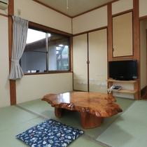 【本館】6畳和室 一人旅にもオススメ♪館内のトイレにはウォシュレット完備してます。