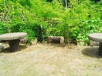 鶴仙庵中庭(初夏)