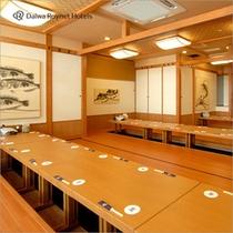 日本海庄や 朝食会場