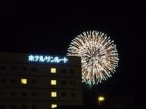 毎年恒例福知山花火大会(2012)