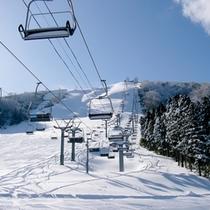 最寄りの民宿街シングルリフトまで徒歩約5分!思いっきりスキー・スノボを楽しもう♪