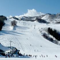 冬到来!民宿街シングルリフトまで徒歩5分の好立地★思う存分スキー・スノボをお楽しみ下さい♪