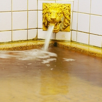 【湯らゆら温泉】天然ラジウム温泉のお風呂は24時間ご入浴可能です。