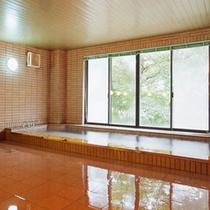 源泉かけ流しの湯-大浴場