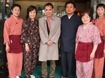 片岡鶴太郎さんTV土曜スペシャルの撮影です