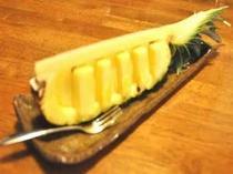 デザートは季節の水果☆ 日替わりでお楽しみ