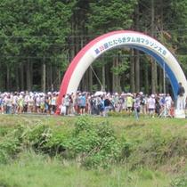 ダム湖マラソン