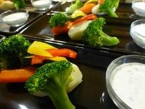温野菜 ヨーグルトソース添え