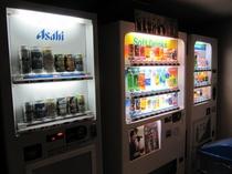 お酒とジュースの自動販売機