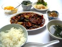 昼食 回鍋肉