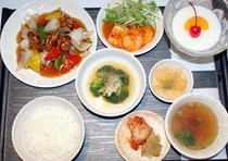 お食事例【中華Aセット】