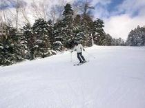 車山高原スキー場で快適滑走!