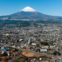 御殿場から見える富士山