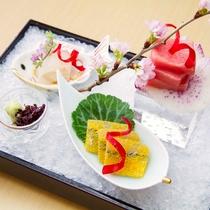 桜鯛 鮪 針魚 妻一式