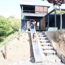 別邸KURO客室「庭」