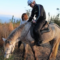 王子様プラン 可愛い馬に癒されるね♪