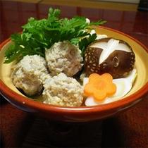 *夕食一例/寒い季節には体が温まるお鍋にほっこり。