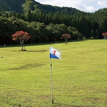 *【施設】敷地内には、日本グラウンドゴルフ協会認定コースがございます。