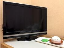 液晶テレビが全室に備わっています。