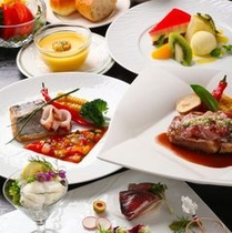 「ブリランテ」夕食洋コース一例