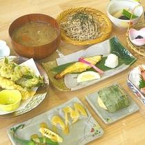 *【料理一例】四季の食材を活かした「和食御膳」。