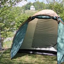 *【キャンプ場】北アルプスを見渡す大パノラマが自慢のキャンプ場