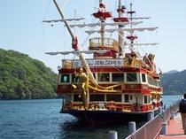 箱根 芦ノ湖 海賊船
