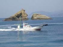 三楽荘所有の自家用船