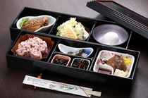 奥会津名物 山の黒料理膳
