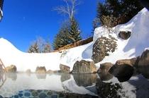 【雪見露天風呂】