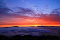 【周辺】津別峠から眺める夜明け