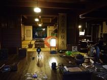 夜の博物館