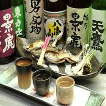 3種類の日本酒を選んで飲み比べが出来ます。