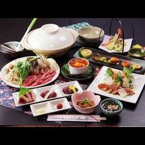 会津産馬肉の《桜鍋》高タンパク、低カロリー、鉄分も豊富で栄養満点♪