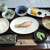 *【朝食一例】朝食は和定食をご用意いたします。しっかり食べて一日の始まりに備えましょう!