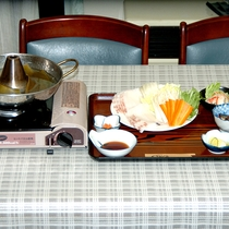 *【夕食一例/たこしゃぶ】鮮度抜群!ミネラル豊富なたこをご堪能ください。