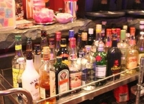 Bar・カクテルの種類も豊富