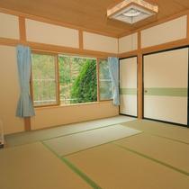 *4~6名用Iタイプ_和室/ゆとりある和室は10畳!畳でごろりとするのもオススメ♪