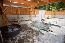 「平成の湯」露天風呂