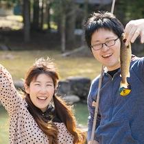 【釣り堀体験】