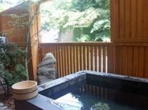 露天風呂付き客室お風呂