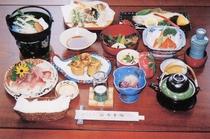 季節感ある御料理の一例
