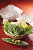 自家製野菜のコラーゲン鍋