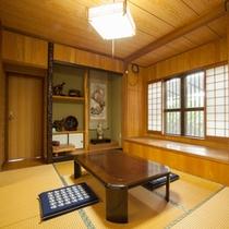 *【別館1F:和洋室<和室>】床の間のある、ゆったりとしたお部屋です。